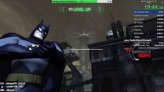 Batman: Arkham City 100% Speedrun WR 3:42:49 RTA (71219)