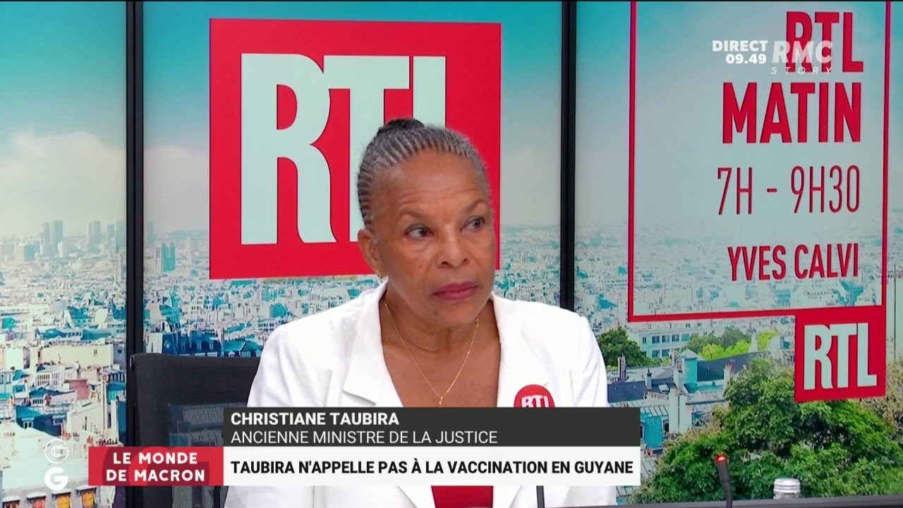 Christiane Taubira refuse d'appeler les Guyanais à la vaccination: courage ou manque de courage?