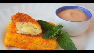БЫСТРО и ПРОСТО.Картофельные палочки с сыром(праздничная закуска)