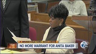 No more warrant for singer Anita Baker
