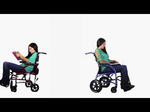 The Strongback Wheelchair Vs A Normal Wheelchair YouTube video thumbnail