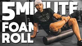 The BEST Foam Roller Exercises You'll Ever Do