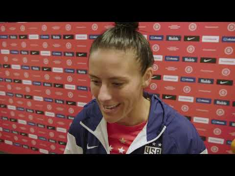 Ali Krieger - Post match interview USA vs Panama (Olympic Qualifying)