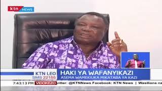 Katibu Mkuu wa COTU Francis Atwoli ameitaka serikali kutupilia mbali leseni ya James Finlays