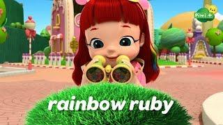 RAINBOW RUBY - Qui fait ce bruit monstre ? Episode complet (dessin animé piwi+)