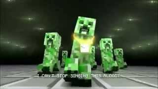 [Minecraft Music Video] I'm a Creeper