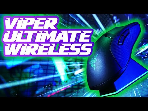 External Review Video aThCWVac3xk for Razer Viper Ultimate Wireless Gaming Mouse