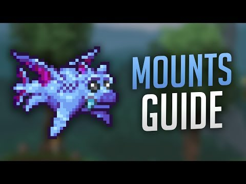 All Mounts Guide - Terraria 1.3.5