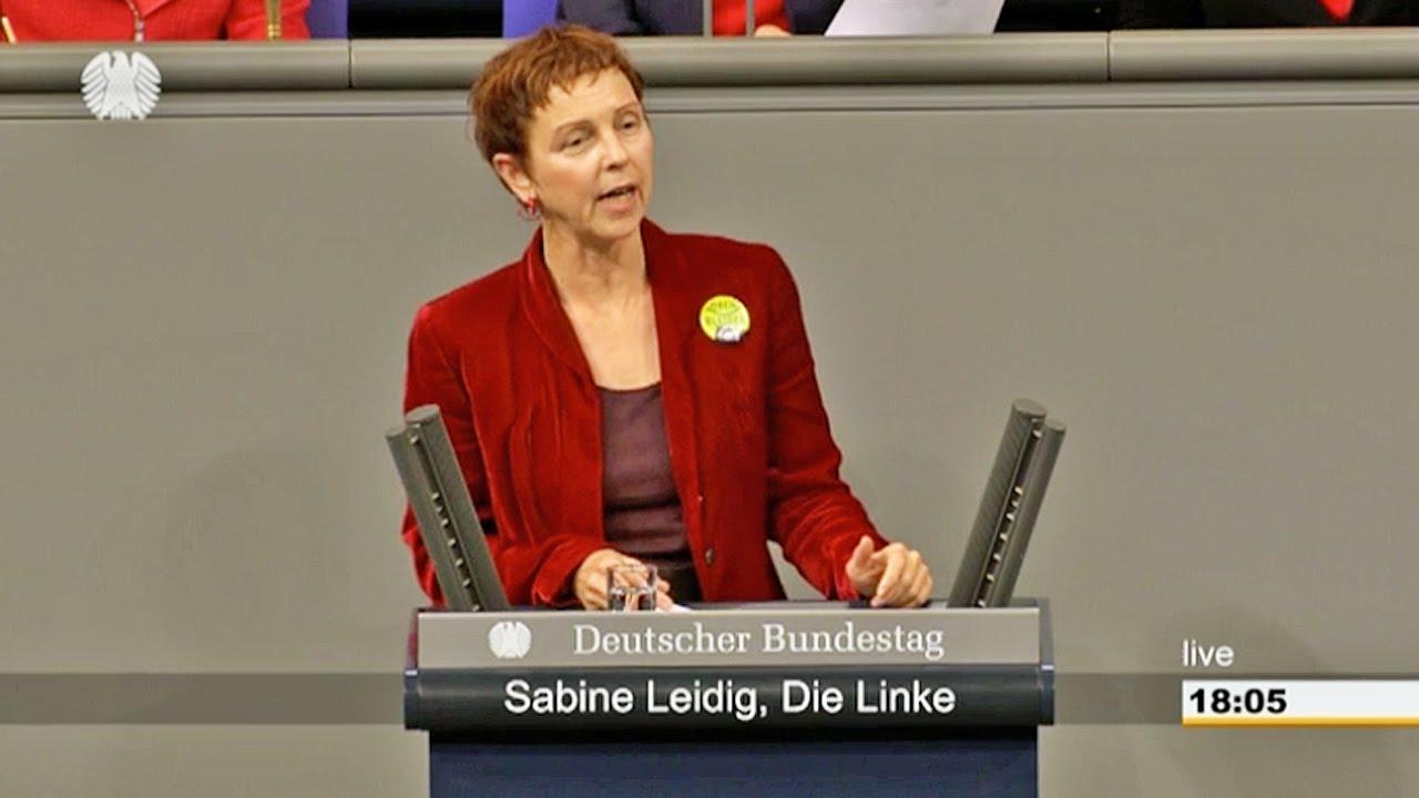 Rede von Sabine Leidig am 25. Februar 2016 im Deutschen Bundestag zum Thema Stuttgart 21: ein Milliardengrab von 9,6 Milliarden Euro!!!