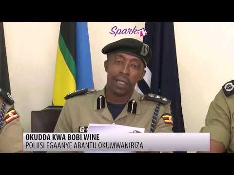 Poliisi etadde amateeka ku kudda kwa Bobi Wine