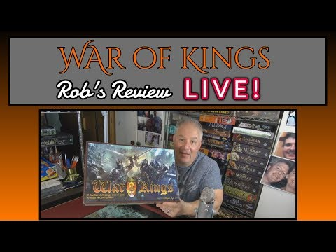 War of Kings - Live Unboxing and Review