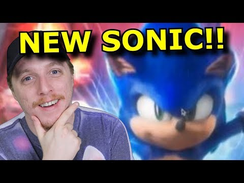 New Sonic Movie Designed LEAKED! I LOVE IT?!