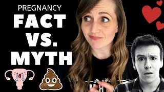 Induction Causes C-Sections, Pooping in Labor, & Med Free Birth? | OBGYN FACT VS MYTH EPISODE 001