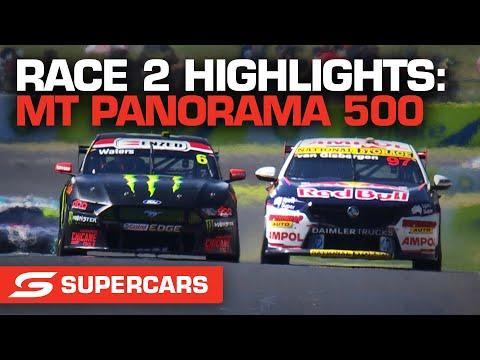 SUPERCARS 2021 Repco マウント・パノラマ500 決勝レース2のハイライト動画