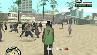 GTA San Andreas DYOM: Brutal Fight (X Hunting)