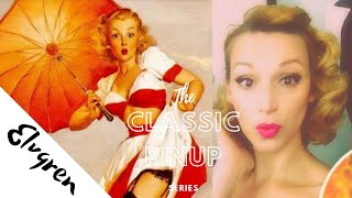 Classic PinUp Hairstyle-Gil Elvgren Revisited