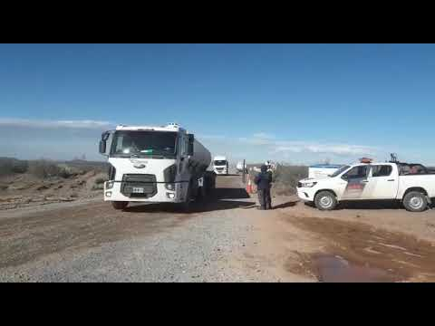 Loma La Lata   Sigue descontrolado el incendio en el pozo de YPF