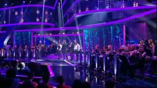 "The X Factor - Week 3 Act 8 - JLS | ""Ain't That A Kick In The Head?"""