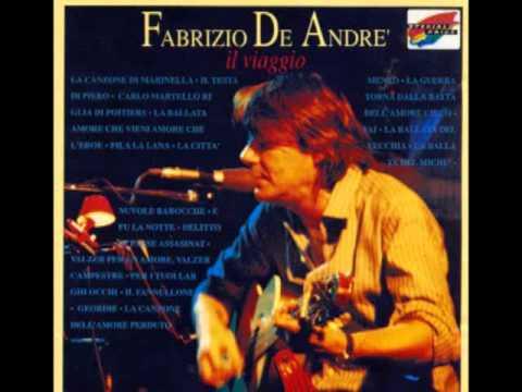 Fabrizio De André - Per i Tuoi Larghi Occhi