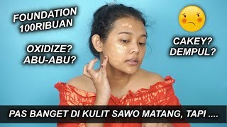 REVIEW & REKOMENDASI FOUNDATION UNTUK KULIT SAWO MATANG MAKE OVER ULTRA COVER LIQUID MATT