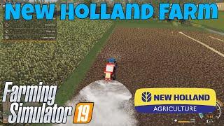 Farming Simulator 19 | New Holland Farm, Felsbrunn Ep. 9 | Harvesting and Lime