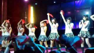 AKB48 singing Hikoukigumo live at AKB 48 NY Webster Hall Concert USA Debut 2009