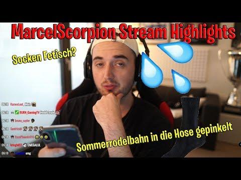 Marcel macht sich in die Hose😂Socken Fetisch?😂|Marcelscorpion Stream Highlights