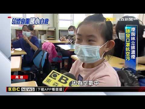 高雄空氣差?! 學生必備口罩 校方籌空氣清淨機