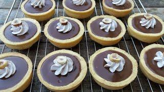 تارتولات الشوكولاته الفاخرة /tartes Aux Chocolat/chocolate Tarts