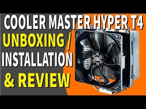 Cooler Master Hyper T4 Unboxing / Installation / Review