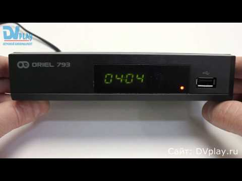 Oriel 793 - обзор DVB-T2 ресивера