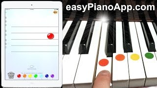 How to Play Piano with Easy Piano App for iPhone and iPad - Learn the FUN way!