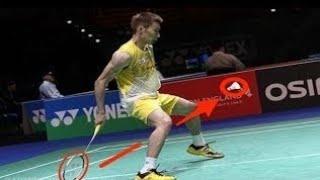 【badminton】えっっ、マジ!?素人がやりそうなバドミントンハプニングプレーまとめ【funny Play】