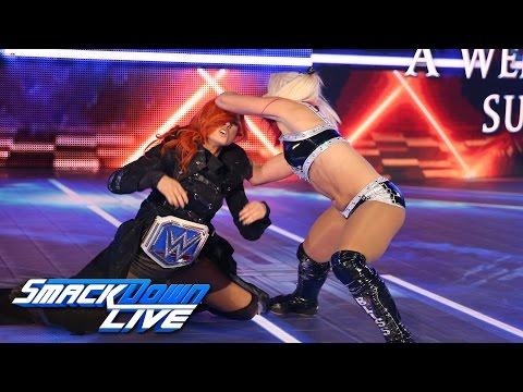 Alexa Bliss attacks Becky Lynch: SmackDown LIVE, Sept. 27, 2016