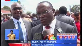 KTN LEO : Hospitali ya Kabarak yazinduliwa