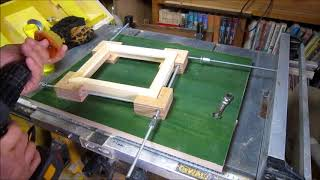 home made picture frame 1  自作額縁 1