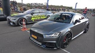 Audi TT RS Plus vs Mercedes-AMG GT 63 S 4Matic+ 4-door Coupé