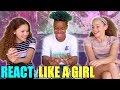 Haschak Sisters - Like A Girl (Chance, Olivia & Sierra REACT)