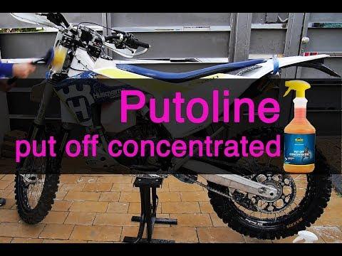 How I clean my dirt bike with Putoline Put Off
