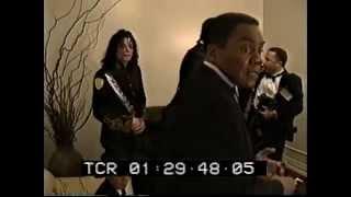 Michael Jackson -  NAACP awards Backstage 1993  MJDHF exclusive
