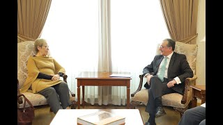Foreign Minister of Armenia met with the Director of the OSCE Office for Democratic Institutions and Human Rights (ODIHR)