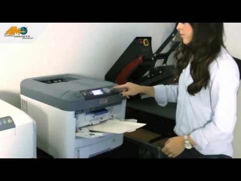 Impresión Láser, ideal para sistemas de transferencia