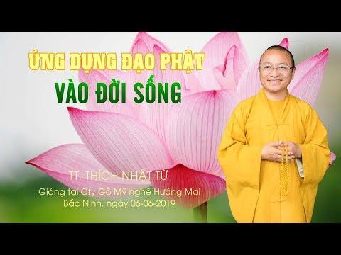Ứng dụng đạo Phật vào đời sống