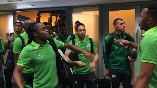 Bafana Bafana In High Sprites Ahead Of The Senegal Game