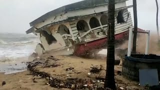 video: Vessels send SOS messages as Cyclone Tauktae makes landfall in India