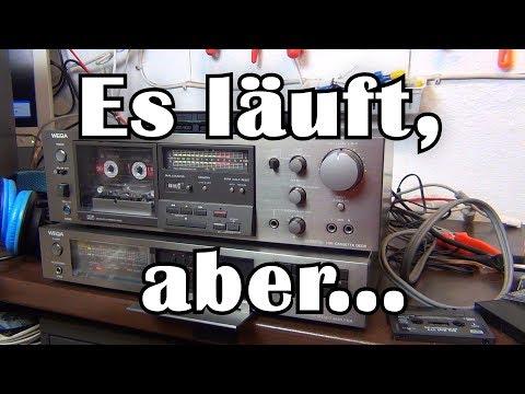 Wieder HIFI-Zeug: Ein Tapedeck Von WEGA   Reparatur Pt.1