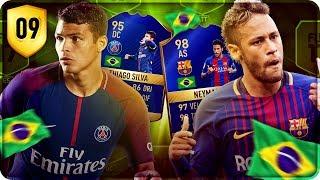 ROAD TOP BRAZIL TEAM : NEYMAR TOTS & SILVA TOTS !!! [FIFA 17]