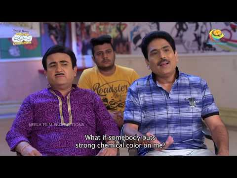 Jethalal Shocks Everyone!   Latest Episode 2943   Taarak Mehta Ka Ooltah Chashmah   TMKOC Holi 2020
