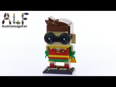 Vidéo LEGO BrickHeadz 41587 : Robin