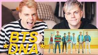 Twins react - BTS (방탄소년단) 'DNA' Official MV REACTION | Niki and Sammy